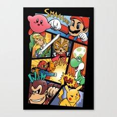 Dairanto Smash Bros Canvas Print