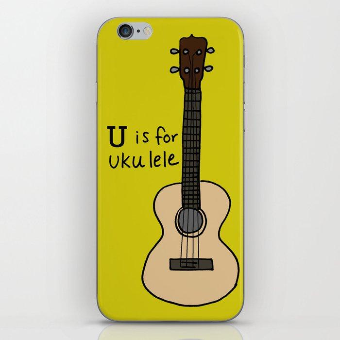 U is for Ukulele iPhone Skin