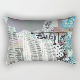 Media city Rectangular Pillow