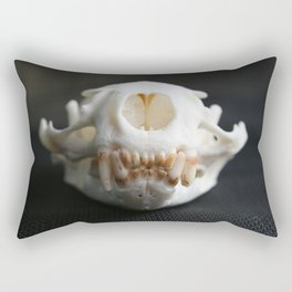 Otter Skull Rectangular Pillow