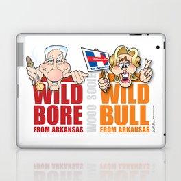 Wild Bill & Hillary Laptop & iPad Skin