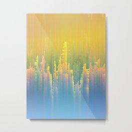 Reversible Space / Imagiary Cities 19-02-17 Metal Print
