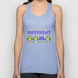 It's Okay To Be Different Autism Awareness T-Shirt Unisex Tank Top