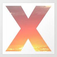 Sky XO Series X Art Print