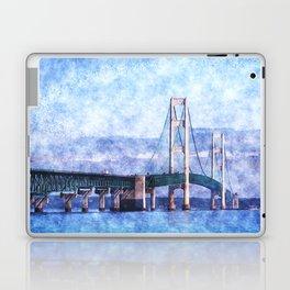 The Mackinac Bridge Laptop & iPad Skin