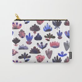 Mod Flowers Carry-All Pouch