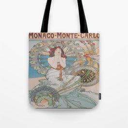 Vintage poster - Monte Carlo Tote Bag