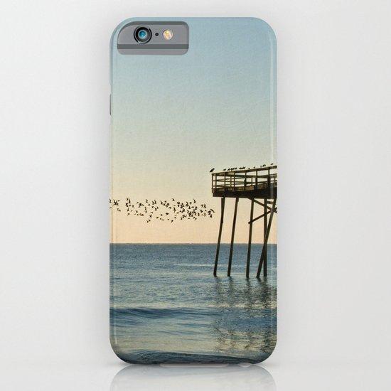Oceanic Pier & Birds iPhone & iPod Case