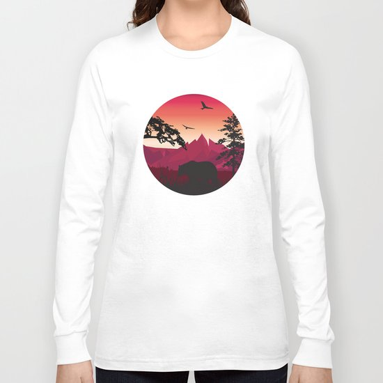 My Nature Collection No. 42 Long Sleeve T-shirt