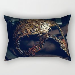 Mirror Mask (2) Rectangular Pillow