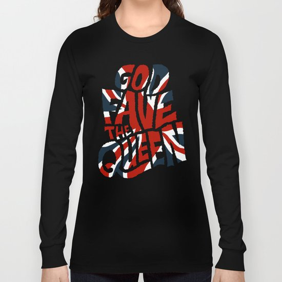 God Fave The Queen Long Sleeve T-shirt