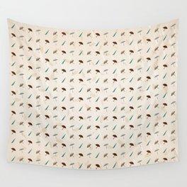 Umbrellas Pattern Wall Tapestry