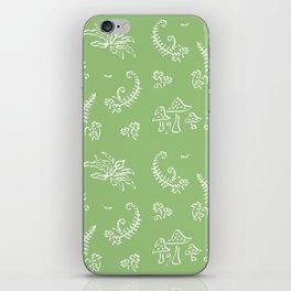 Lady Fern - Green iPhone Skin