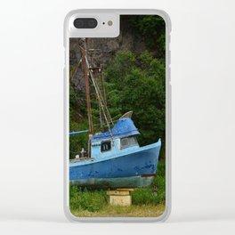 Stranded in Seldovia Clear iPhone Case
