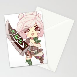 Riven chibi Stationery Cards