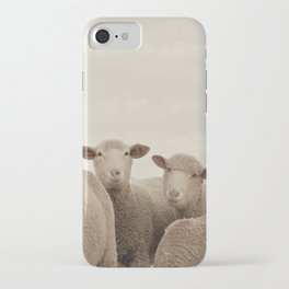 Smiling Sheep  iPhone Case