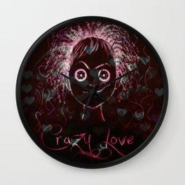 Crazy Love Wall Clock