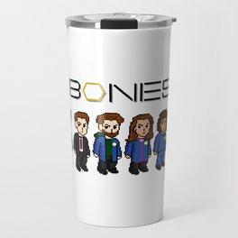BONES PIXEL ART Travel Mug
