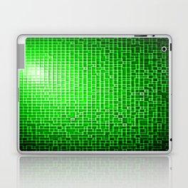 Green Pixels Laptop & iPad Skin