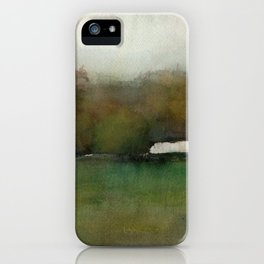 Distant Shelter iPhone Case