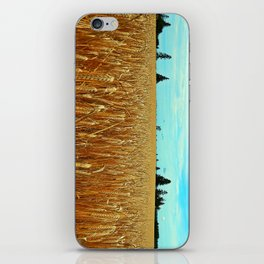 Wheat Field iPhone Skin