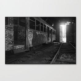 Trams #1 Canvas Print