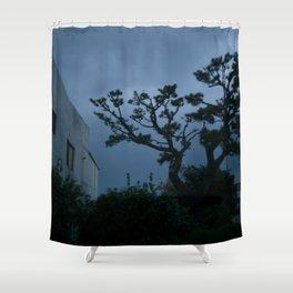 Jeju Storm Shower Curtain