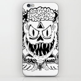 Need more brains! iPhone Skin