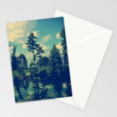 Yesterday Evening at the Lake Stationery Cards
