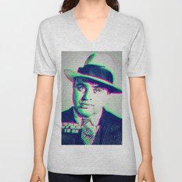 Al Capone Unisex V-Neck