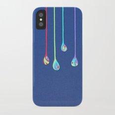 Jewel Drops Papercut iPhone X Slim Case
