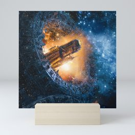 The Voyage Begins Mini Art Print