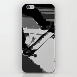 Half Pipe Skateboarding iPhone Skin