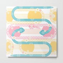 Sweet Baby Snakes Metal Print