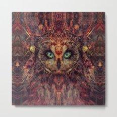 Mystic Owl Metal Print