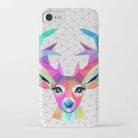 deer iPhone & iPod Cases featuring deer by mark ashkenazi