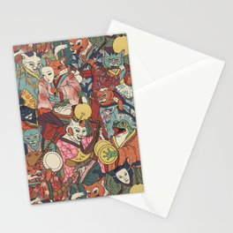 Night parade Stationery Cards
