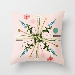 Flora Botanica No.1 Throw Pillow