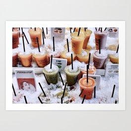 Refreshing - Barcelona Art Print