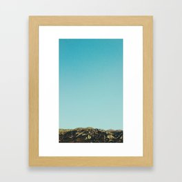 Castle Peak Framed Art Print