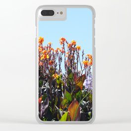 Strelitzia Clear iPhone Case