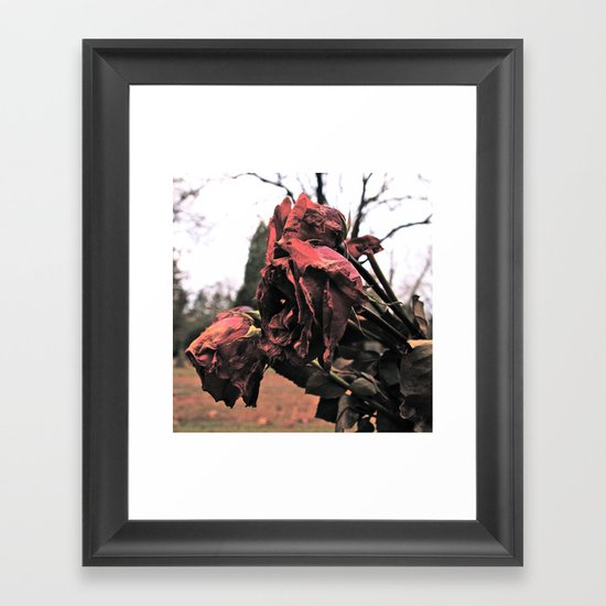 Goodbye love Framed Art Print