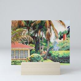 6 Palms Mini Art Print