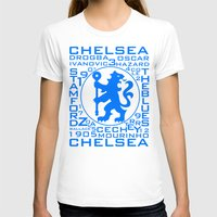 chelsea T-shirts featuring Chelsea Mix by Sport_Designs