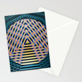 Temple of Nine Stationery Cards