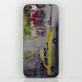 NYC TAXI iPhone Skin