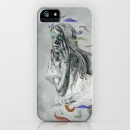 Floats Away iPhone Case