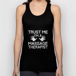 Masseur Massage Physio Therapy Massage Unisex Tank Top