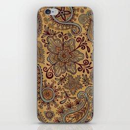 Cosmic Paisley Henna iPhone Skin