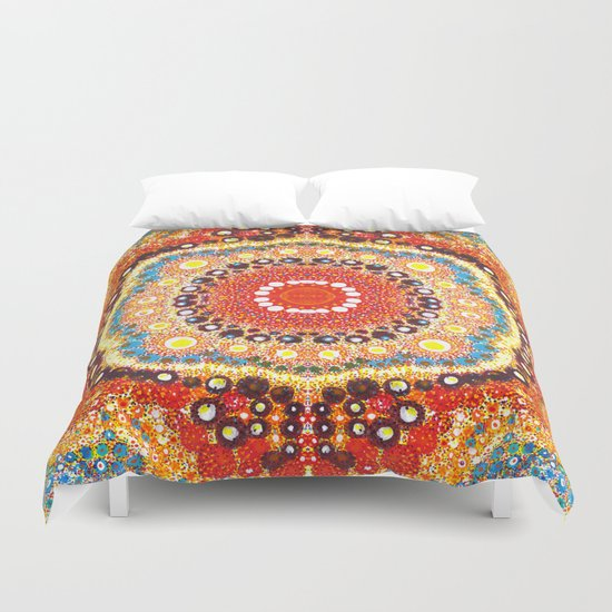 Searching For Infinity Duvet Cover